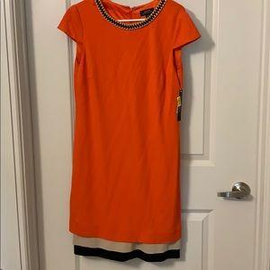 Tahati Orange Dress